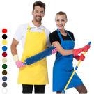 廚師掛脖圍裙 廚房家居工作服圍裙 男女款圍裙 15色【YK017】