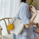 手提包 法國質感流行包包2020新款潮夏網紅單肩包大容量水桶托特包手提包