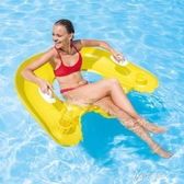 充氣沙發 INTEX坐式浮排充氣浮圈水上充氣椅子沙發浮床躺椅58859 遇見初晴YJT