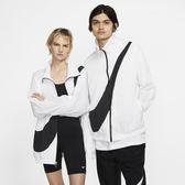 IMPACT Nike Sportswear Swoosh 白底 黑字 薄款 運動 遮陽外套 女子 BV3686