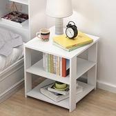 床頭櫃 床頭柜簡約現代收納小柜子儲物柜置物架ins臥室小型床邊柜經濟型【快速出貨八折搶購】