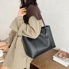 潮女大包包 托特包女大容量大包包2021新款潮單肩韓版簡約百搭女士手提包【快速出貨八折鉅惠】