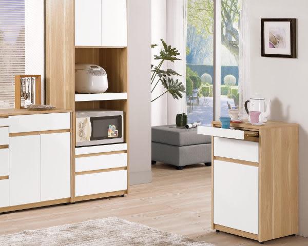 【YUDA】羅德尼 1.5尺 優麗坦漆 收納櫃 / 餐櫃 / 置物櫃 J8M 412-3