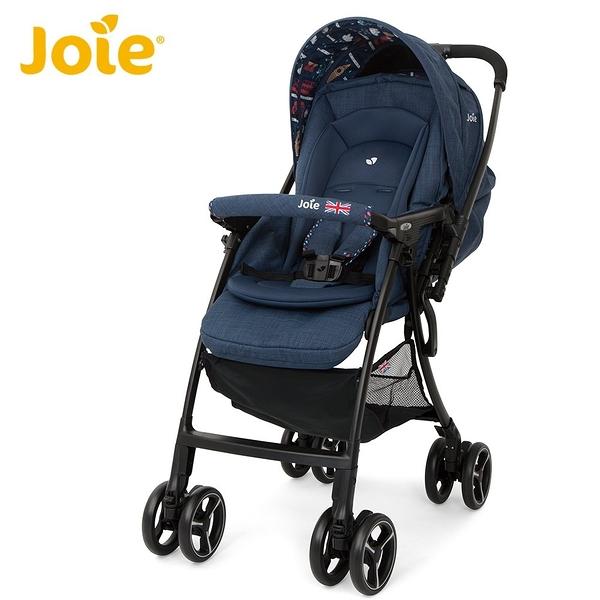 Joie FLOAT 4WD 輕量雙向手推車(英倫藍)附原廠雨罩 6953元 (無法超取)