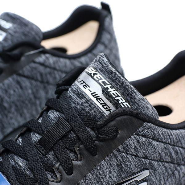 SKECHERS FLEX ADVANTAGE3.0  黑灰 運動鞋 訓練鞋  男(布魯克林) 52956BKW