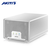 《AKiTiO》Neutrino D3 迷你雷霆金牛座 D3 外接盒(2.5吋-2bay)