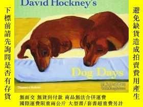 二手書博民逛書店David罕見Hockney s Dog Days-大衛霍克尼的狗日Y436638 David Hockney