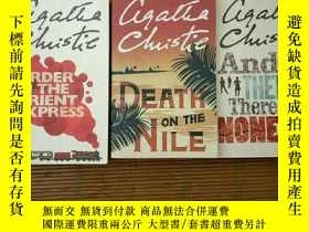 二手書博民逛書店Murder罕見on the orient express &