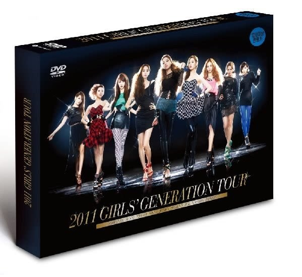少女時代 2011 GIRLS' GENERATION TOUR  DVD  (購潮8)