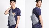 小米胸包男士單肩包斜跨包斜挎多功能實用迷你運動腰包手提包