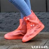 鞋套雨鞋套男女雨靴下雨防水鞋套成人雨天防滑加厚耐磨底學生兒童 春季新品