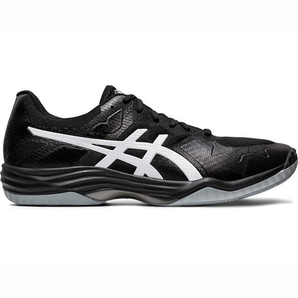Asics Gel-tactic 2 [1071A031-003] 男鞋 羽排鞋 透氣 輕量 彈性 緩衝 亞瑟士 黑 白