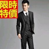 成套西裝 包含西裝外套+褲子 男西服-上班族制服宴會造型魅力時髦3色54o16[巴黎精品]