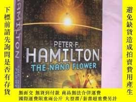 二手書博民逛書店THE罕見NANO FLOWER 《納米之花》 科幻小說Y146