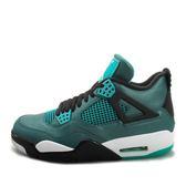 Nike Air Jordan 4 Retro 30TH [705331-330] 男鞋 喬丹 經典 潮流 休閒 綠 黑