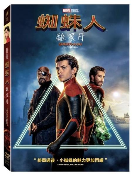 【停看聽音響唱片】【DVD】蜘蛛人:離家日