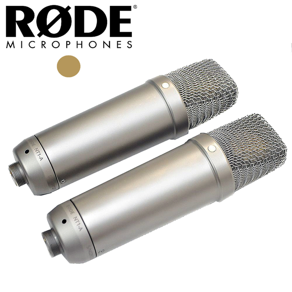 ★Rode★NT1A Matched Pair 電容式麥克風 錄音 現場表演麥克風