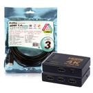 [哈GAME族]免運費 伽利略 HDMI 1.4b 3進1出 影音切換器 H4301R + aibo 1.4版 3米 HDMI傳輸線