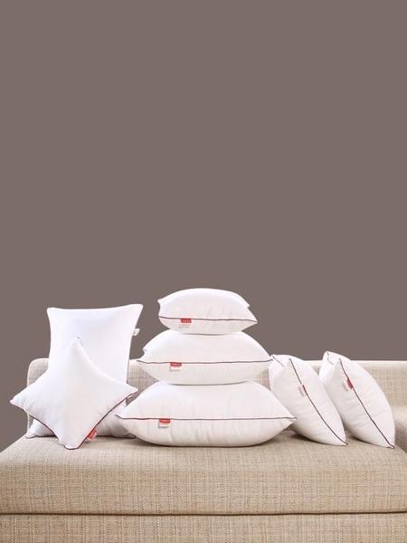 抱枕抱枕芯十字繡靠墊芯40 45 50 55 60 65 70正方形沙發靠背靠枕芯子 漫步雲端