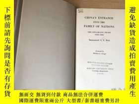 二手書博民逛書店【罕見】 China s Entrance Into the Family of NationsY27248