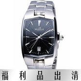 【台南 時代鐘錶 】MORRIS K 真愛無所畏 時尚立體感腕錶 小款 MK09095-CA20