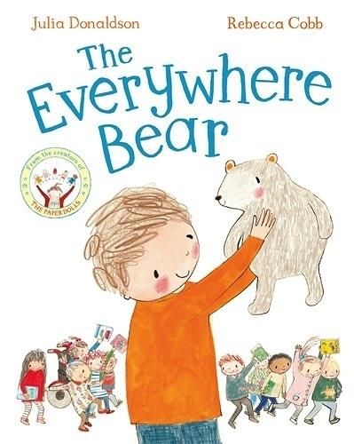 【麥克書店】THE EVERYWHERE BEAR / 英文繪本《主題:溫馨情誼》