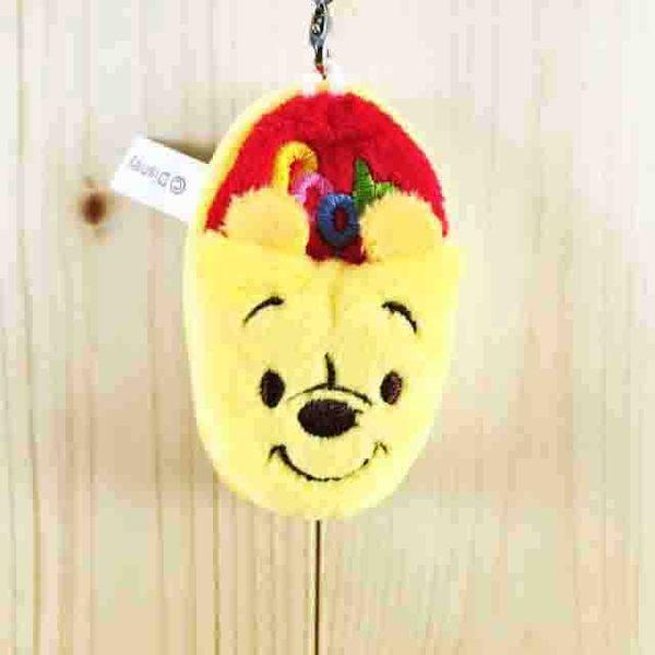 【震撼精品百貨】Winnie the Pooh 小熊維尼~防塵塞擦拭絨毛-鞋子