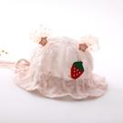 兒童遮陽帽 嬰兒帽子春秋薄款漁夫帽可調節公主可愛洋氣夏天幼兒女寶寶遮陽帽-Ballet朵朵