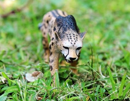 【協貿國際】野生動物模型玩具帝王獵豹