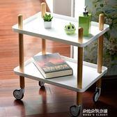 可移動手推車置物架宜家廚房儲物架客廳收納架家居移動書架  朵拉朵衣櫥