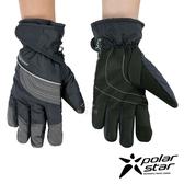 【 PolarStar 】中性防水保暖觸控手套『黑藍』P18627 觸控手套.防風手套.保暖手套.防滑手套.刷毛手套