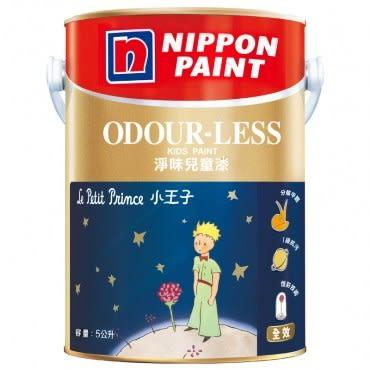NIPPON PAINT 立邦漆 淨味兒童漆 BS4 白色 5L BTN0831B1