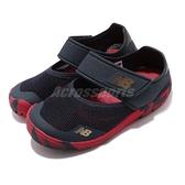 New Balance 涼拖鞋 208 NB 藍 紅 童鞋 小童鞋 涼鞋 魔鬼氈 運動鞋【ACS】 IO208CG2W