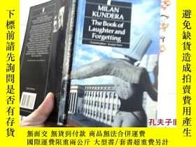 二手書博民逛書店MILAN罕見KUNDERA The Book of Laugh