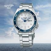 【台南 時代鐘錶 SEIKO】精工 5 Sports 限量 140周年 SRPG47K1 鋼錶帶 機械男錶 4R36-11H0S 藍 42.5mm