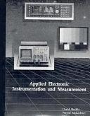 二手書博民逛書店 《Applied Electronic Instrumentation and Measurement》 R2Y ISBN:067521162X│Prentice Hall