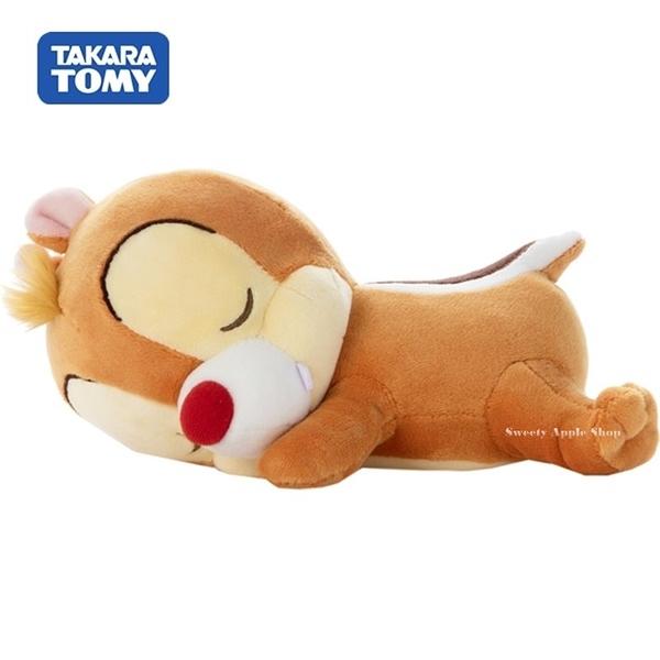 日本限定 迪士尼 奇奇蒂蒂 TAKARA TOMY『蒂蒂』  睡眠版 玩偶娃娃