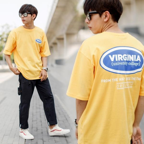 T恤 VIRGINIA文字落肩短T【NB1020J】