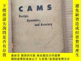 二手書博民逛書店CAMS罕見design,dynamics,and accuracy(P331)Y173412