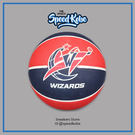SPALDING 籃球 NBA 巫師 隊徽 紅深藍 室外 7號球 SPA83219【SP】