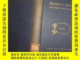 二手書博民逛書店BRASSEYS罕見ANNUAL The Armed Force