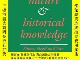 二手書博民逛書店Human罕見Nature And Historical KnowledgeY255562 Leon Pomp