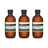 Aesop 伊索 Parsley Seed 香芹籽抗氧化活膚調理液 7.2oz, 200ml  , 共3件