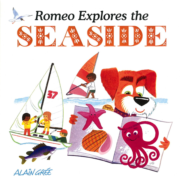 Romeo Explores The Seaside 羅密歐遊海邊 硬頁繪本
