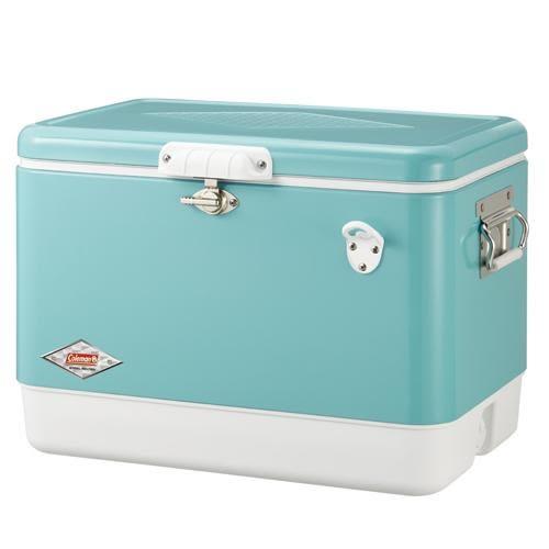 【早點名露營生活館】Coleman 51L 美國藍經典鋼甲冰箱 CM-03739