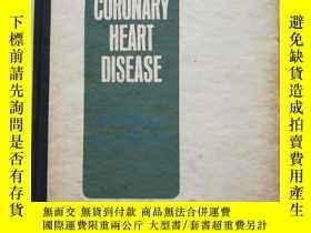 二手書博民逛書店冠心病罕見CORONARY HEART DISEASEY1097