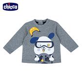 chicco-賽車小狗-長袖上衣