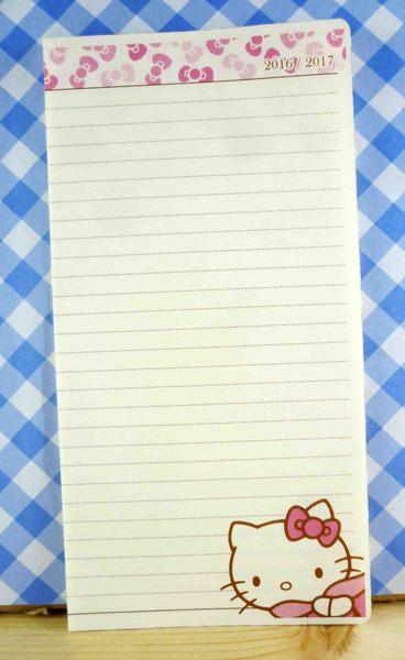 【震撼精品百貨】Hello Kitty 凱蒂貓~kitty便條紙-蝴蝶結(大)
