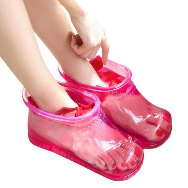 倍喜多泡腳桶足浴盆足浴桶洗腳家用塑膠腳盆足浴鞋泡腳鞋泡腳神器 英雄聯盟