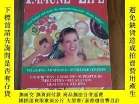 二手書博民逛書店Immune罕見for Life: Live Longer an